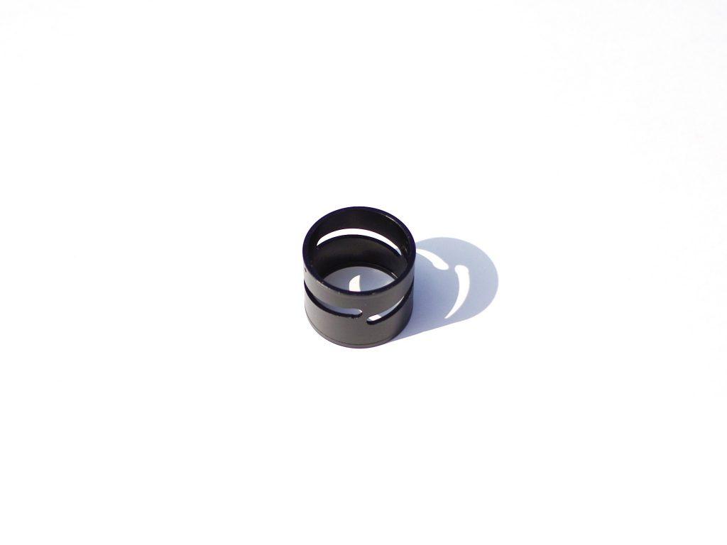 リング(A2017+硬質黒アルマイト)