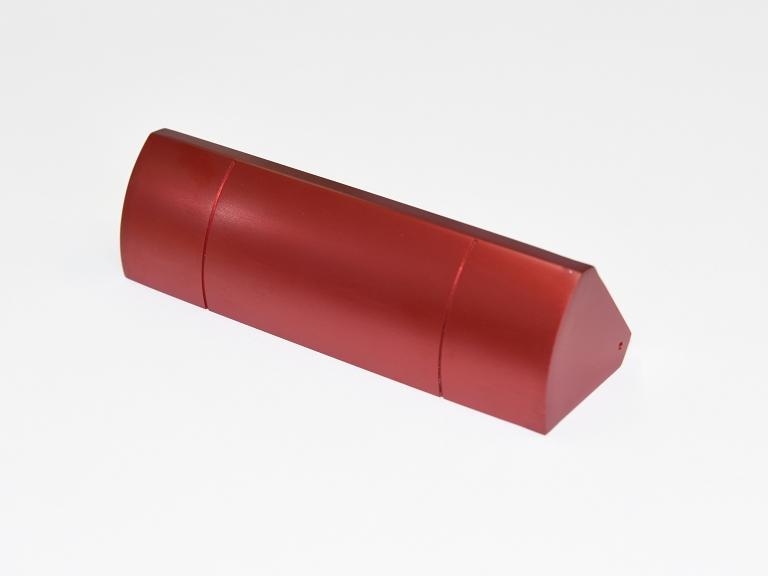 カバー(A5052+赤アルマイト)